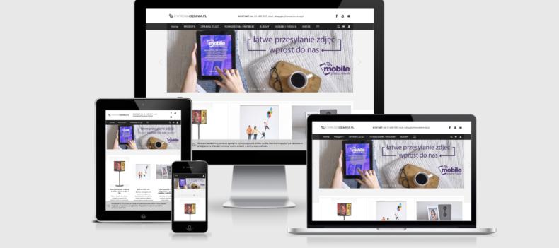 Realizacja projektu strony internetowej dla cyfrowaciemnia.pl