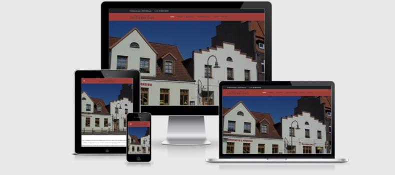 Realizacja projektu strony internetowej dla deutsches-haus-schwaan.de