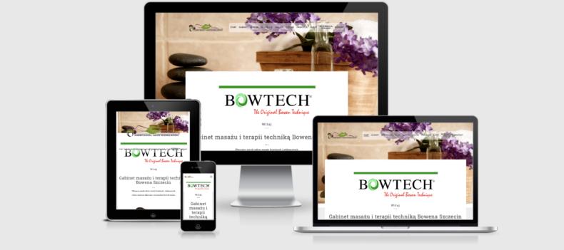 Realizacja projektu strony internetowej dla bowen.szczecin.pl