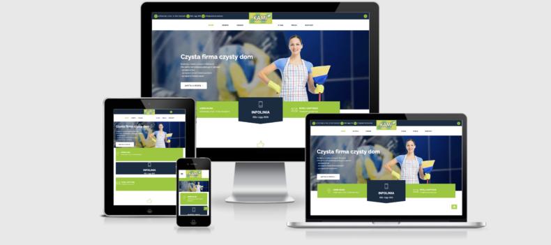Realizacja projektu strony internetowej dla kami.szczecin.pl