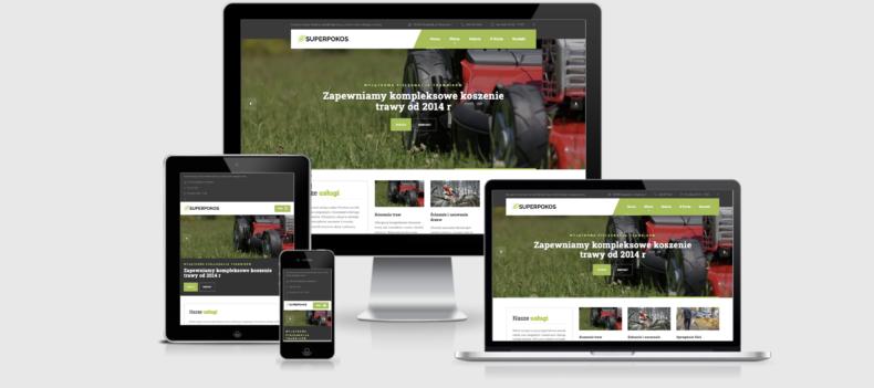 Realizacja projektu strony internetowej dla superpokos.pl