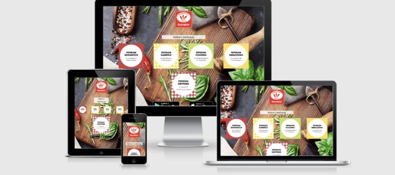 Realizacja projektu strony internetowej dla pizzapeperoni.pl