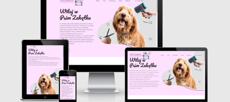 Realizacja projektu strony internetowej dla psizakatek.eu